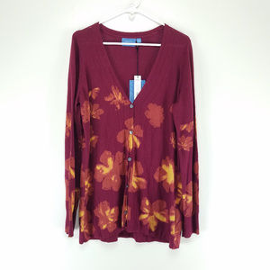 Simply Vera Vera Wang Sweaters - Sold Simply Vera Vera Wang Floral Cardigan Sweater